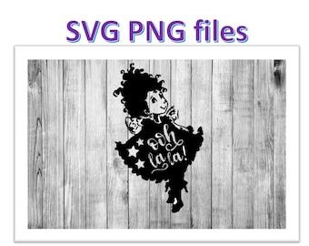 Fancy Nancy Ooh La La DIGITAL   SVG