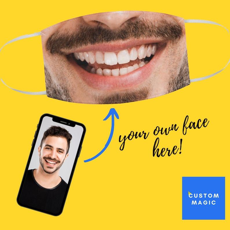 Selfie Face MaskSelfie Face Mask NoseFace Mask WashableFace image 0