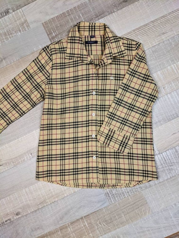 original, vintage shirt Burberry