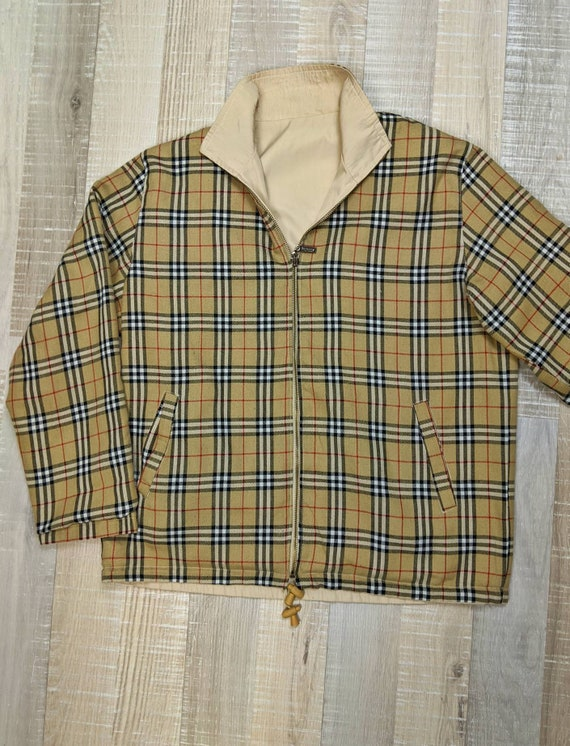 Original Burberry reversible jacket