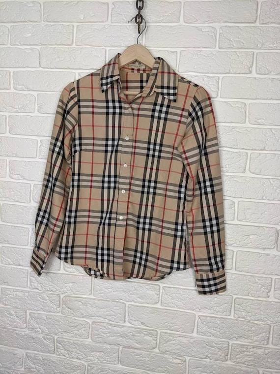 original, vintage shirt Burberry