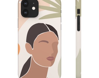 BOHEMIAN ABSTRACT WOMAN iPhone Samsung Case