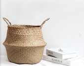 Baskets, Bamboo Wicker Storage Baskets, Woven and Rattan Baskets, Decorative Baskets, Home Decorations, Storage Organization Baskets, Gift