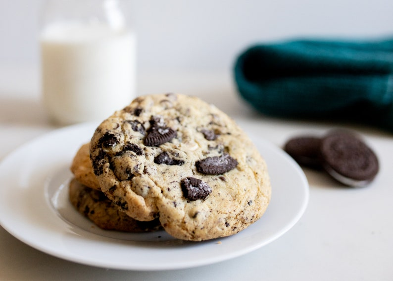 Gluten Free Oreo Cookies & Cream Cookies  Allergy friendly image 0