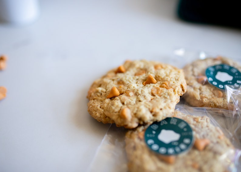 Gluten Free Oatmeal Scotchies Cookies  Allergy friendly image 0