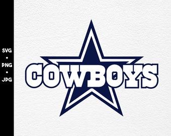 Cowboys Svg Etsy