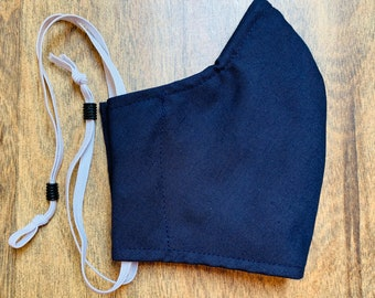 Hearing Aid Compatible Face Mask