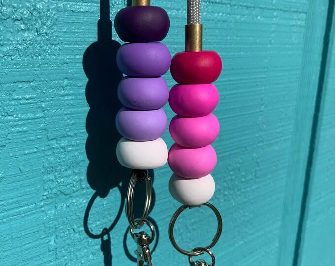 Ombre Teacher Lanyard Teacher Gift Ombre Beaded Lanyard Key Lanyard Lanyard Multiple Colors Available