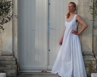 Cotton Nightgown for Women, Summer Sleepwear, Nightdress, Bridal Lingerie, Long Nightgown