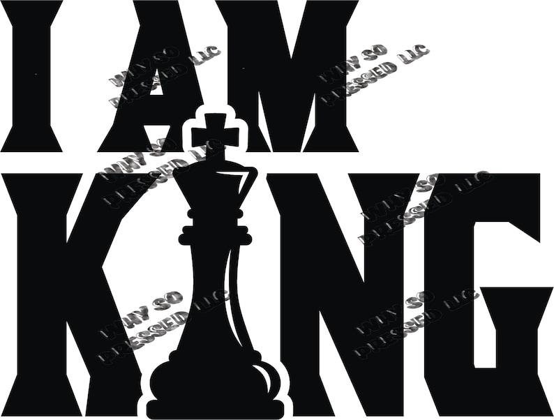 I Am King SVG