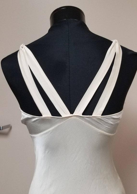 1930's Silk Bias  Night Gown - image 5