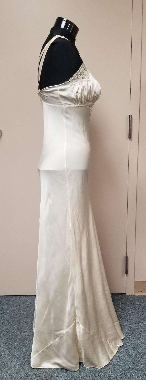 1930's Silk Bias  Night Gown - image 3