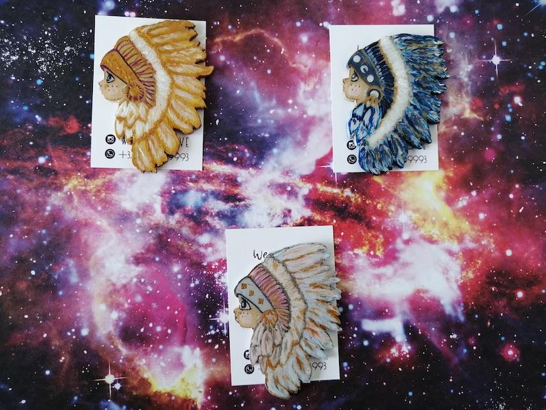 Native american jewelry Navy chief Aandromeda indigo Cleveland indians Indigo moon Magical girl pin Sailor moon pin Sun pin
