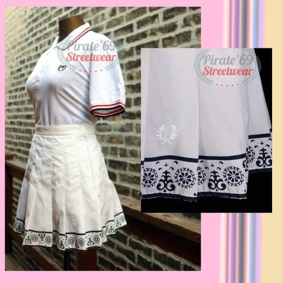 Vintage Fred Perry Tennis Skirt, Dress 50s 60s 70s