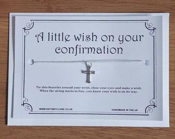 Confirmation Wish Card & Bracelet