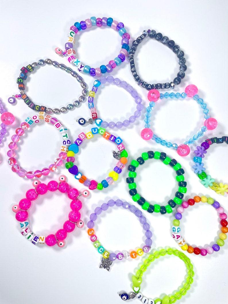 MysteryCustom Kandi Bracelet Packs