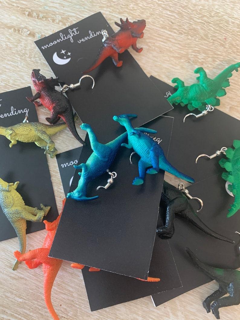 Dino Earrings image 0