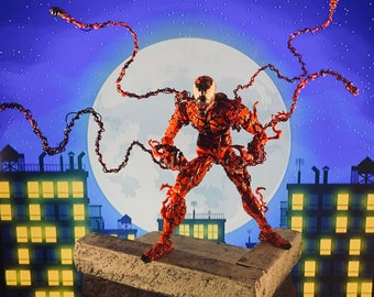Bendy Webz 1:12 scale Carnage action figure web accessory- Set of 5