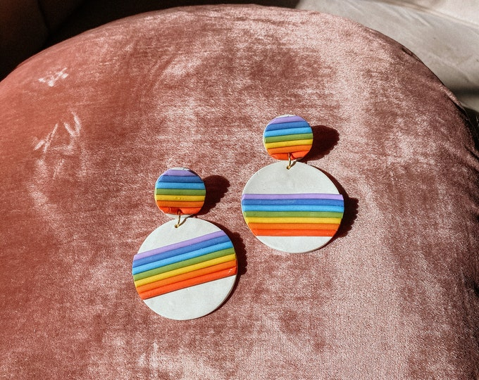 Featured listing image: Rainbow babes earrings