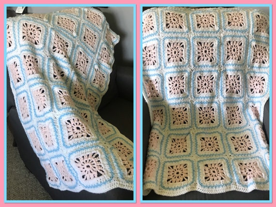 Crochet Crib Baby Blanket
