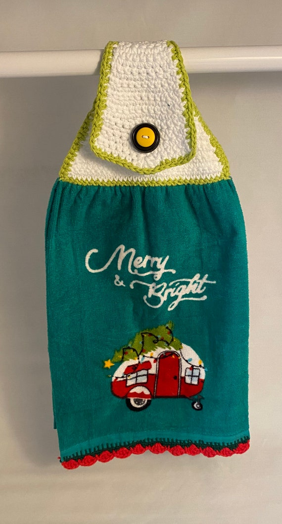 Holiday Camper Kitchen Towel