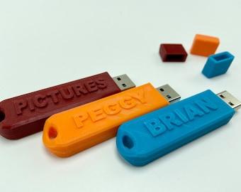Custom USB Flash Drive 3.0 64GB Handmade,Natural Bamboo,Personalized Gift idea,Anniversy,Birthday,Wedding,for Friends,Custom USB