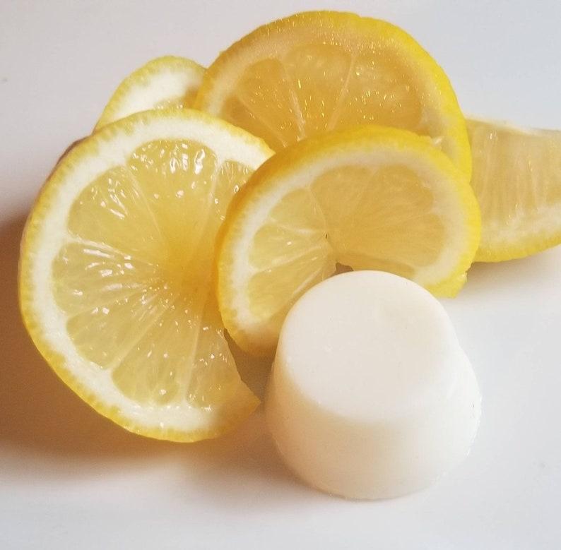 Sea buckthorn Brightening Lemon Face Lotion Bar image 0