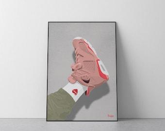 "Air Jordan 6 Retro NRG  ""Aleali May"""
