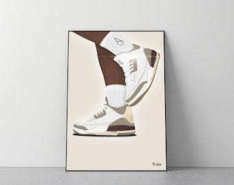 Poster Nike x A Ma Maniére Jordan 3