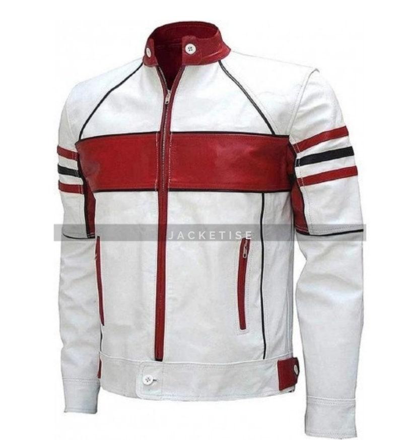 Men's Vintage Jackets & Coats Mens Cafe Racer Retro Leather Jacket New Stylish Moto Biker Jacket Men Everday Casual Leather jacket - Best Birthday Gift $94.53 AT vintagedancer.com