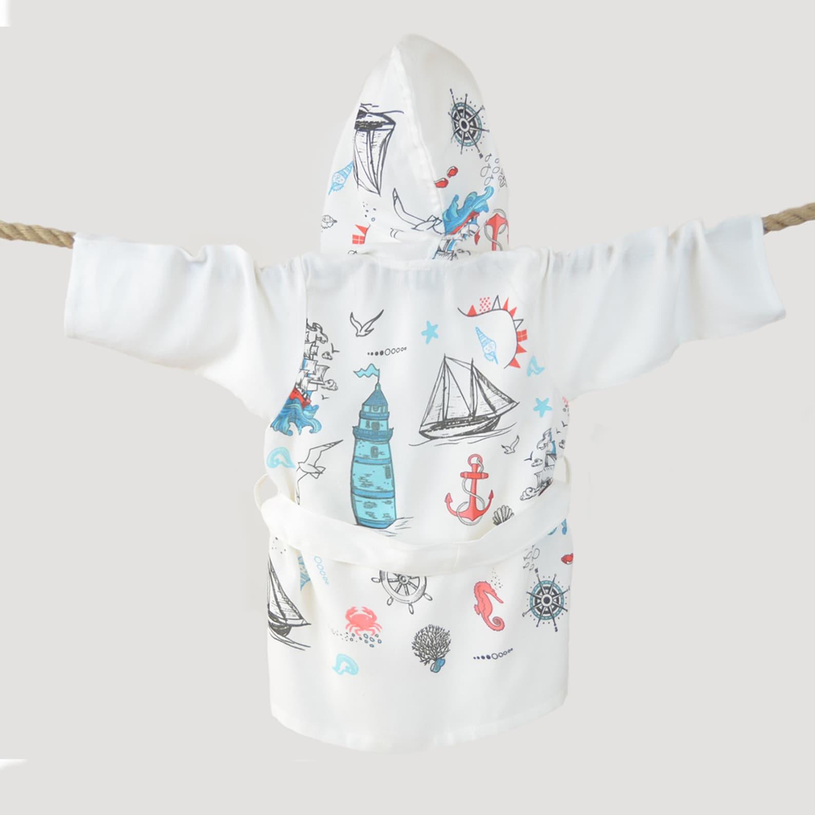 Türkische Handtuch Bademantel für Babys 0-3 Jahre alt | Etsy