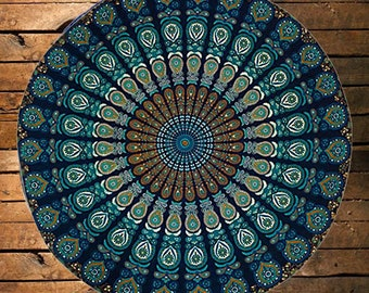 48 Round Tablecloth Etsy