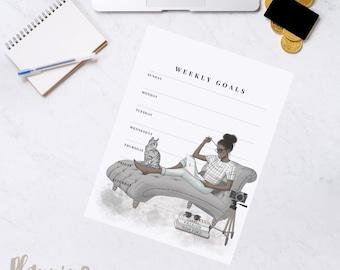 Boss Girl Printable Weekly Planner