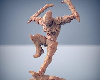 D&D Miniature - Scourgeland Survivor D