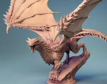 D&D Miniature - Young Red Dragon