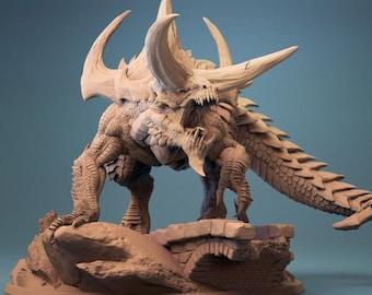 D&D Miniature - Tarrasque
