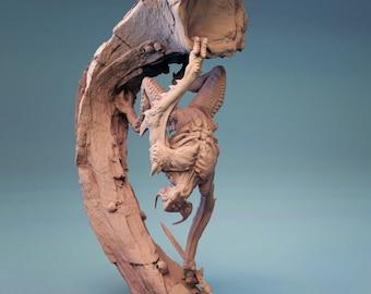 D&D Miniature - Bat Rebu