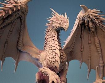 D&D Miniature - Ancient Red Dragon