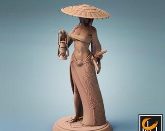 D&D Miniature - Samurai Explorer