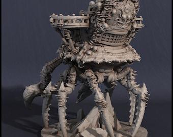 D&D Miniature - Crab Ship