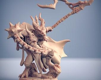 D&D Miniature - Kobold - Chainmaster