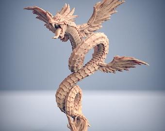 D&D Miniature - Quetzalcoatl