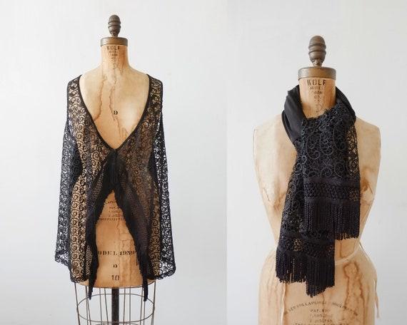 Vintage 70s Boho Crochet Vest // crochet lace vest