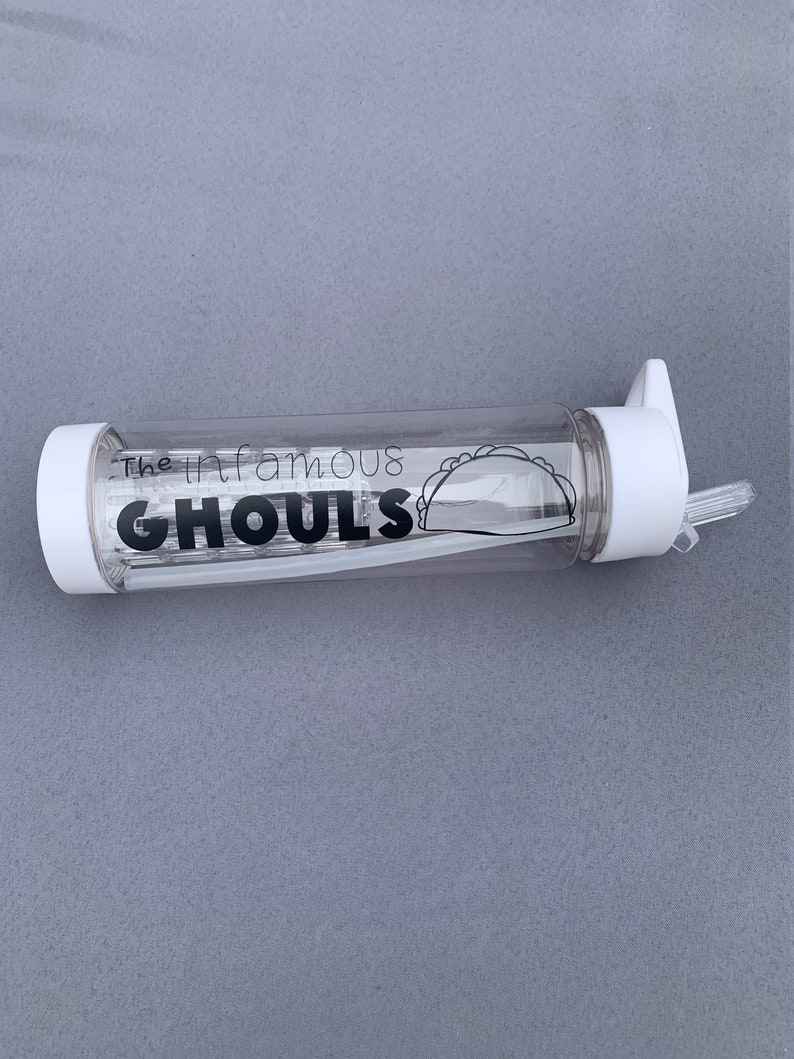 Power Zone Pack Infamous Ghouls BPA Free Infuser Water Bottle