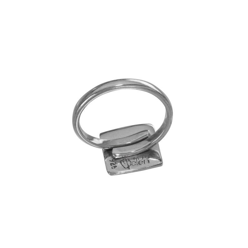 Tzolkin Eagle Ring 13 Moon Silver Jewelry Astrology Silver Jewelry Tzolkin Silver Ring Mayan Symbol Jewelry Mayan Symbol Jewelry