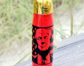 Trump Bullet Tumbler, USA American Flag Tumbler, Trump Tumbler, Trump Gift, Republican Gift, Political Gift, Trump 2020, 2A