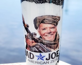 Jihad Joe, #FJB, Stainless Steel Tumbler,Mean Tweets 2024, Republican Patriot Gift, Political Gifts,Desantis 2024