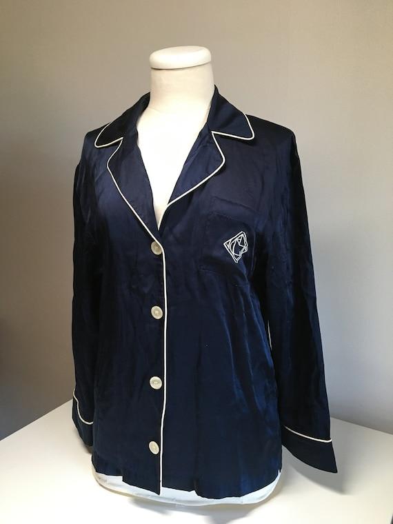 Ralph Lauren silk pyjama top