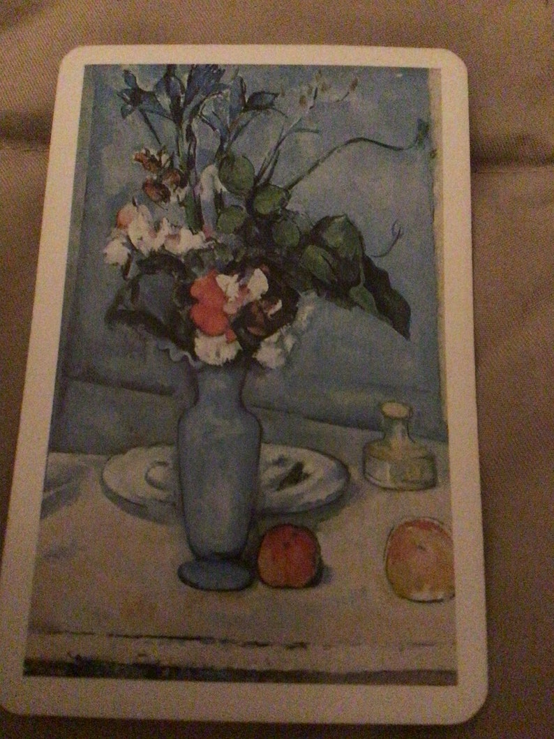 NOS Vintage playing card swap card junk journal scrapbooking