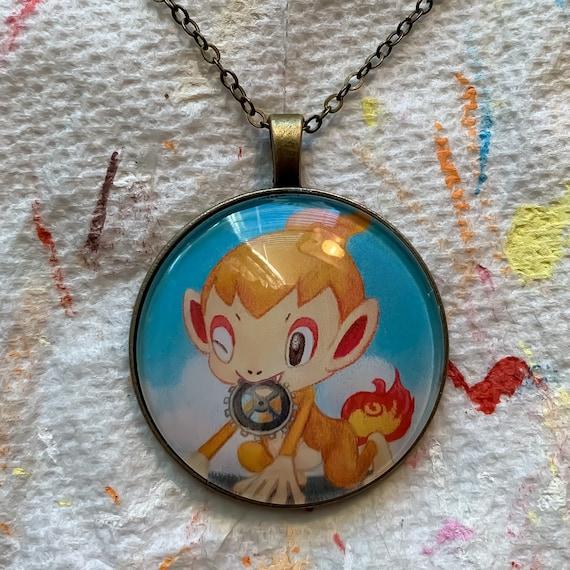 Impidimp Necklace OR Keychain Genuine Pokemon Card Necklace
